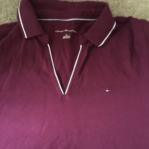 Tommy Hilfiger Maroon Polo